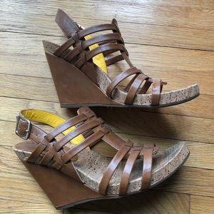 BCBG Bekka Wedge Sandals